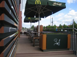 Mcdonalds im Paunsdorf Center