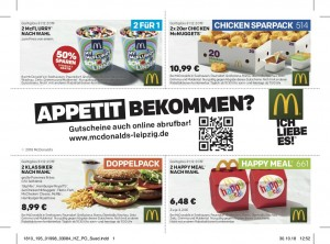 Coupons McDonalds Leipzig 2019