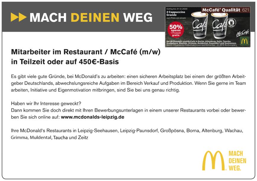 McDonalds Leipzig Coupon 2020